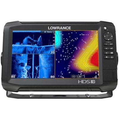 Эхолот-картплоттер Lowrance HDS-9 Carbon с датчиком HST-WSBL