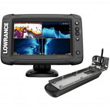 Эхолот-картплоттер Lowrance Elite-7 Ti2 с датчиком Active Imaging 3-в-1