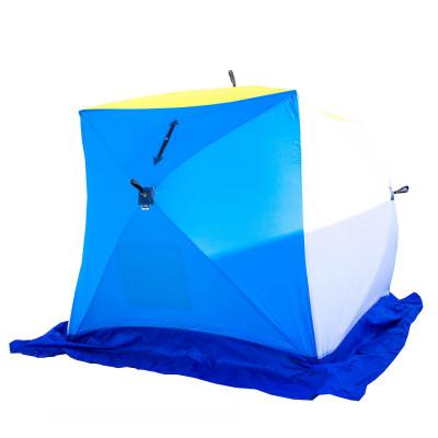 Зимняя палатка Стэк Куб 3 трехслойная дышащая