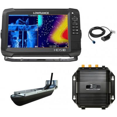 Эхолот-картплоттер Lowrance HDS-9 Carbon с датчиком HST-WSBL и StructureScan 3D